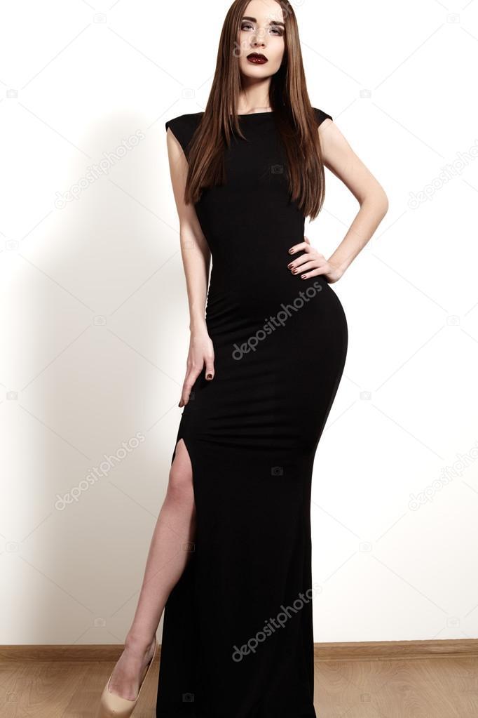 Robe longue femme luxe