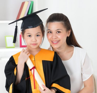 School kid graduation.