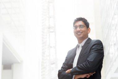 Portrait of Indian businessman