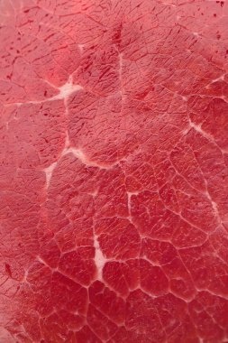 background of raw meat