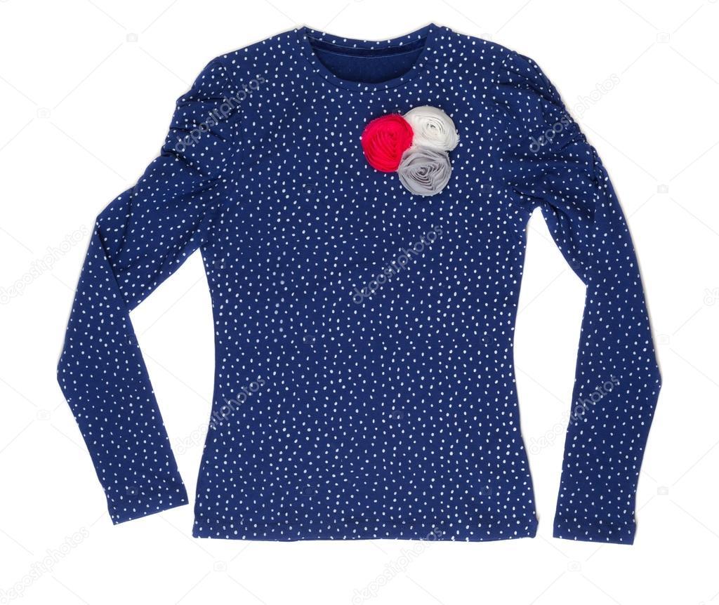 Blue Polka Dot Elegant Ladies Jacket Stock Photo C Ruslan 42552317