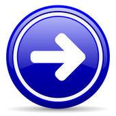 Resultado de imagen para flecha azul en circulo