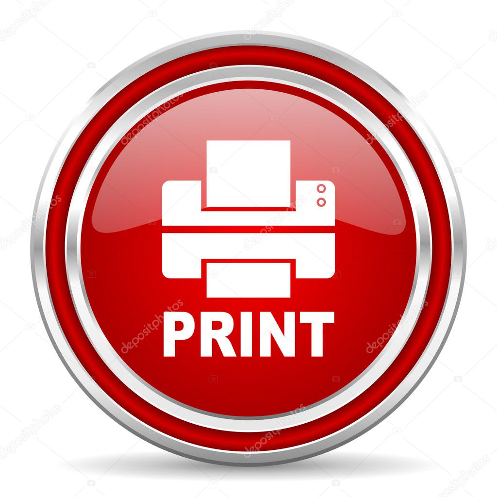 print icon — Stock Photo © alexwhite #30752971