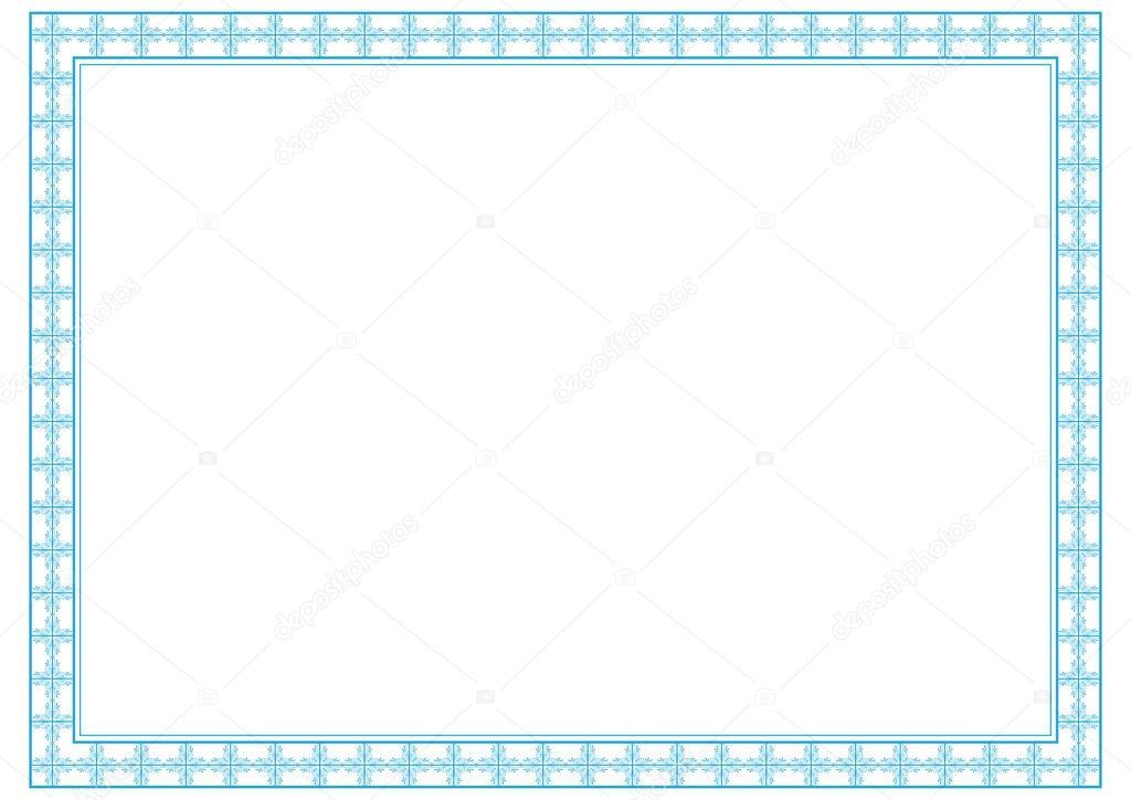 marco de diploma — Vector de stock © justaa #40136965