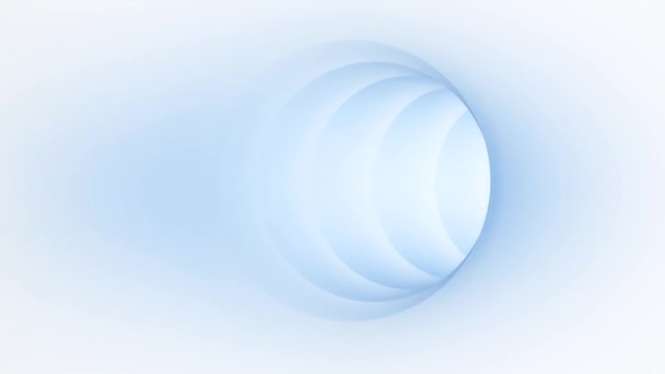 energie světla tunel ve smyčce