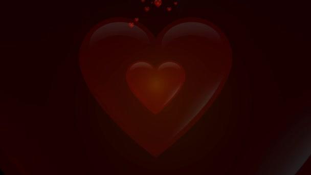 tvar srdce na digitální displej