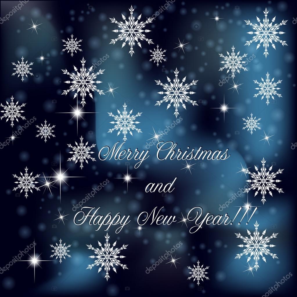 Sfondi Natalizi Eleganti.Sfondo Di Natale Con Fiocchi Di Neve Vettoriali Stock C Ngaga35