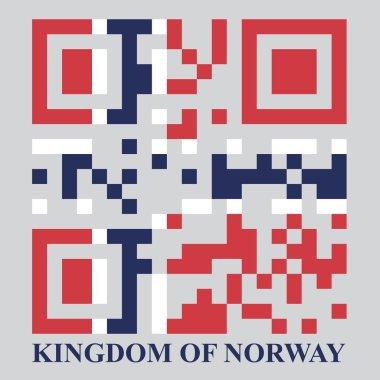 Norway QR code flag