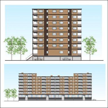 Habitation building