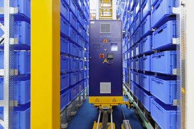 Automated storage warehouse