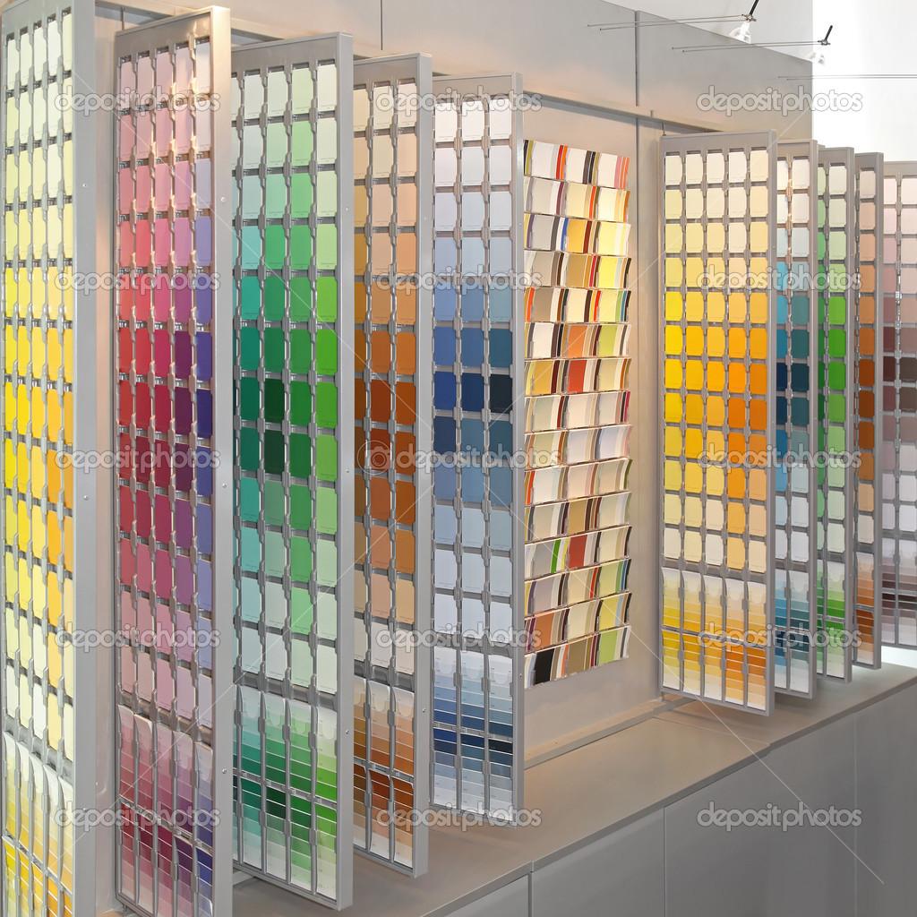 каталоге палетка краски для стен фото картинки днём