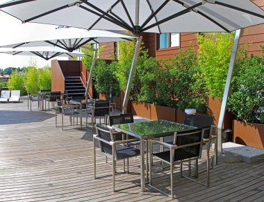 Top floor garden