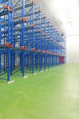 Warehouse freezer interior