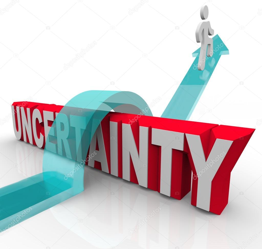 Onzekerheid Plan Vooruit Om Te Voorkomen Dat Angst