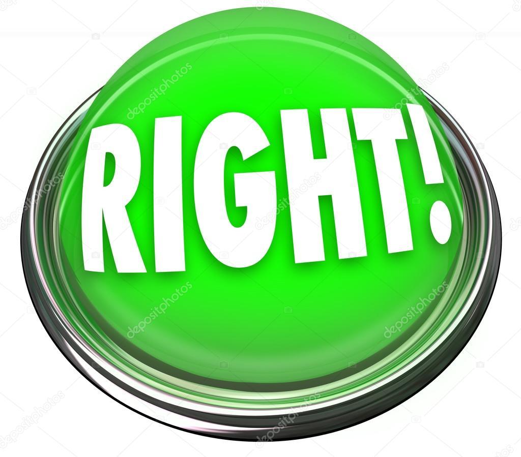 Right green button light flashing correct answer stock - Green button ...