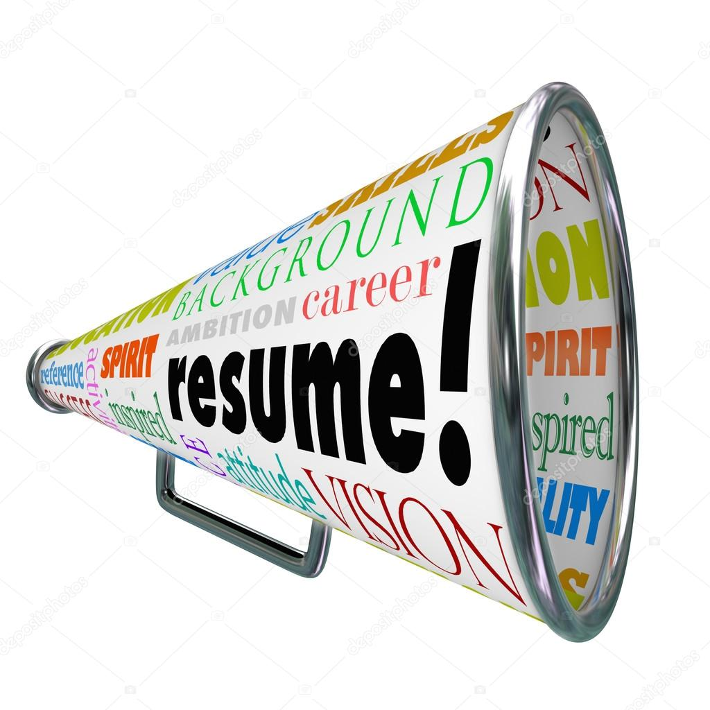 Curriculum Vitae megáfono megáfono vender su experiencia de ...