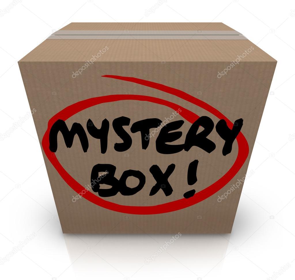 「ミステリーボックス」の画像検索結果