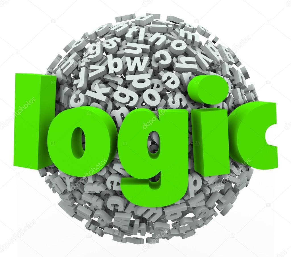 Logic Word Letter Sphere Stock Photo Iqoncept 46022423