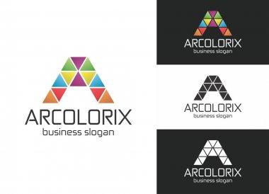 Arcolorix A Letter Logo