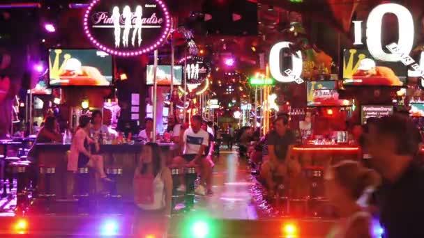 Nacht walking Street, Patong, thailand