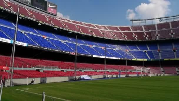 nou camp stadion, barcelona, Španělsko