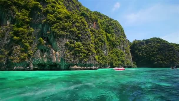 Boat trip to tropical islands, Thailand