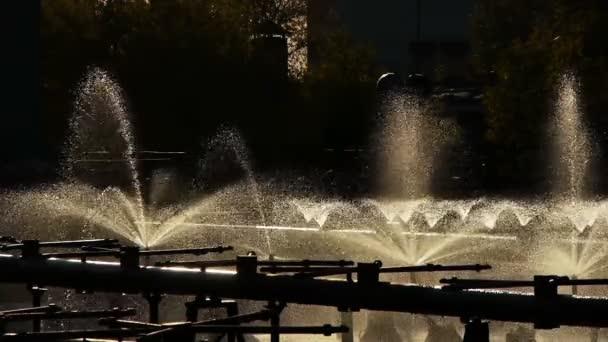 zpívající fontány, barcelona