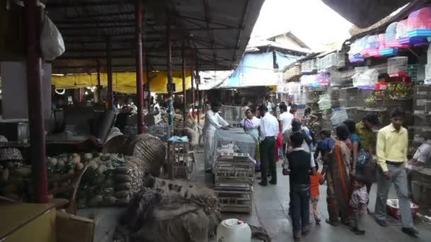 Indický ulice potravinový trh