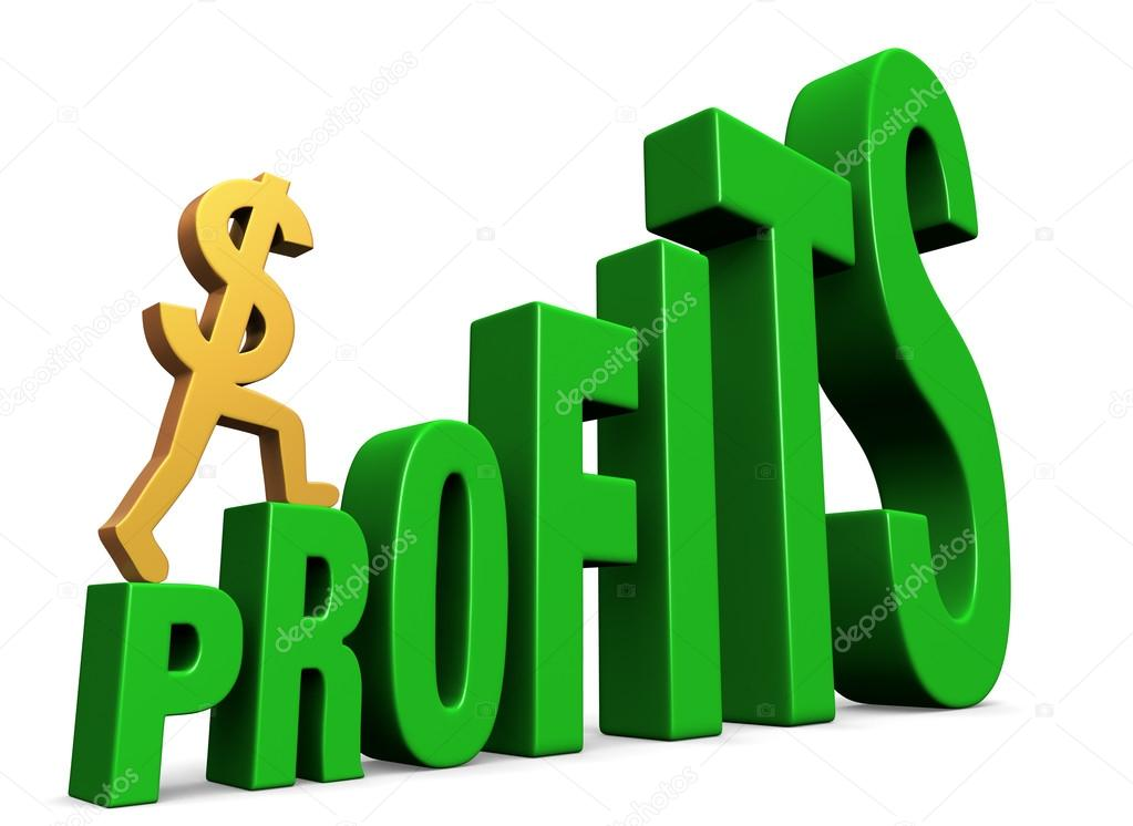 Increasing Profits — Stock Photo © mcarrel #16229987