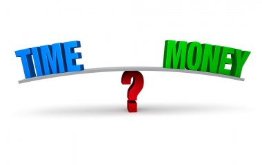 Choosing To Spend Time Or Money