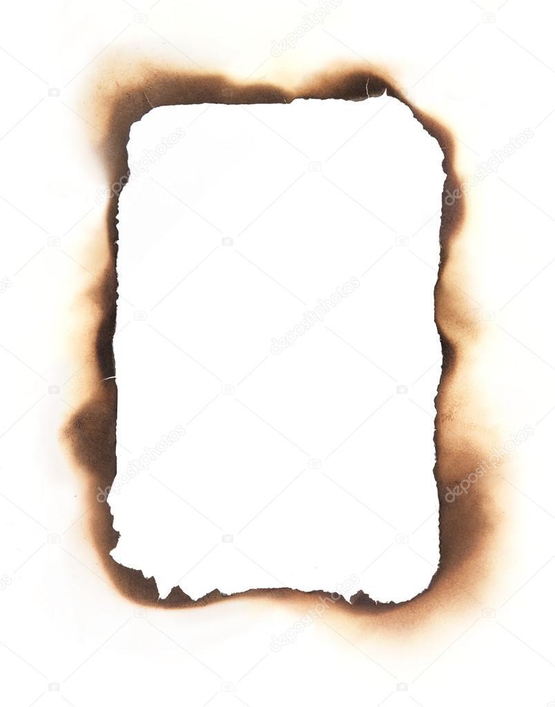 Rectangular Burned Edges Frame — Stock Photo © mcarrel #47654341