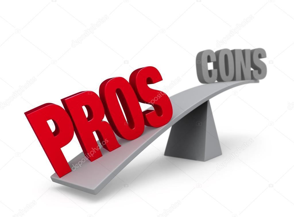 pros outweigh cons stock photo mcarrel 51776291