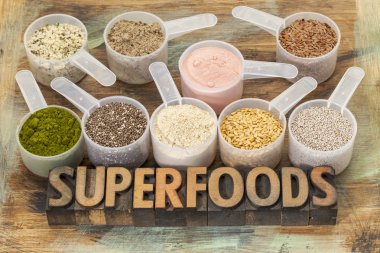 scoops of superfoods