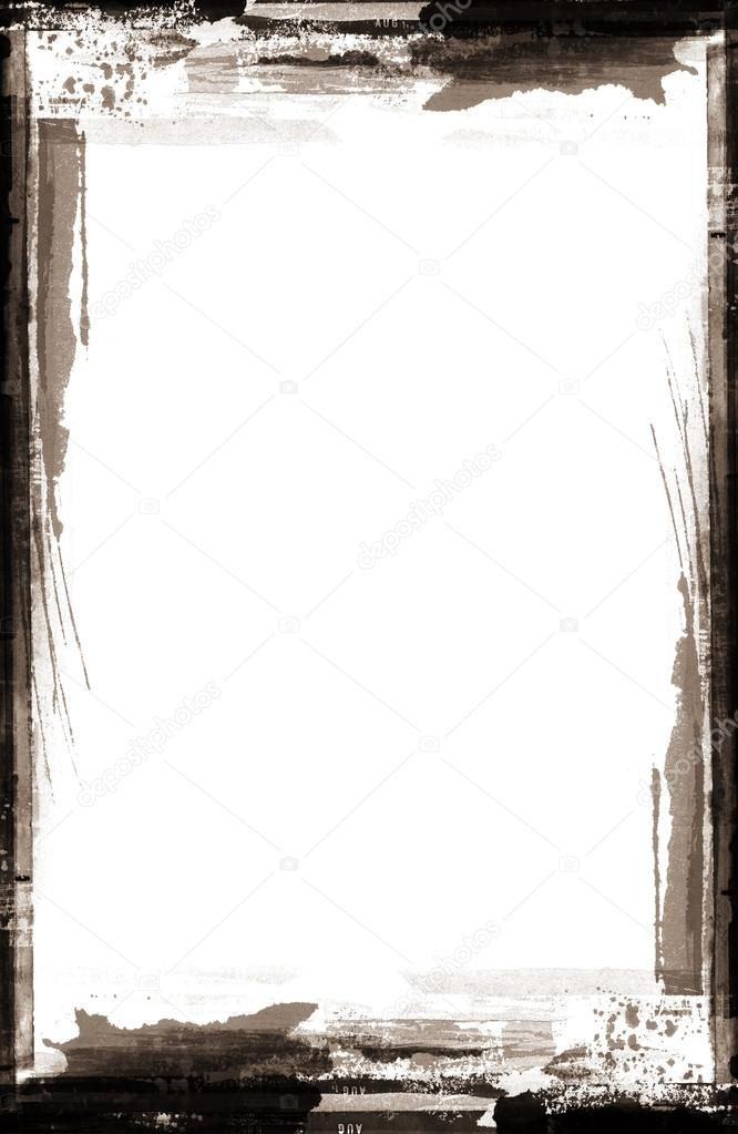 Grunge retro estilo abstracto con textura marco para sus proyectos ...