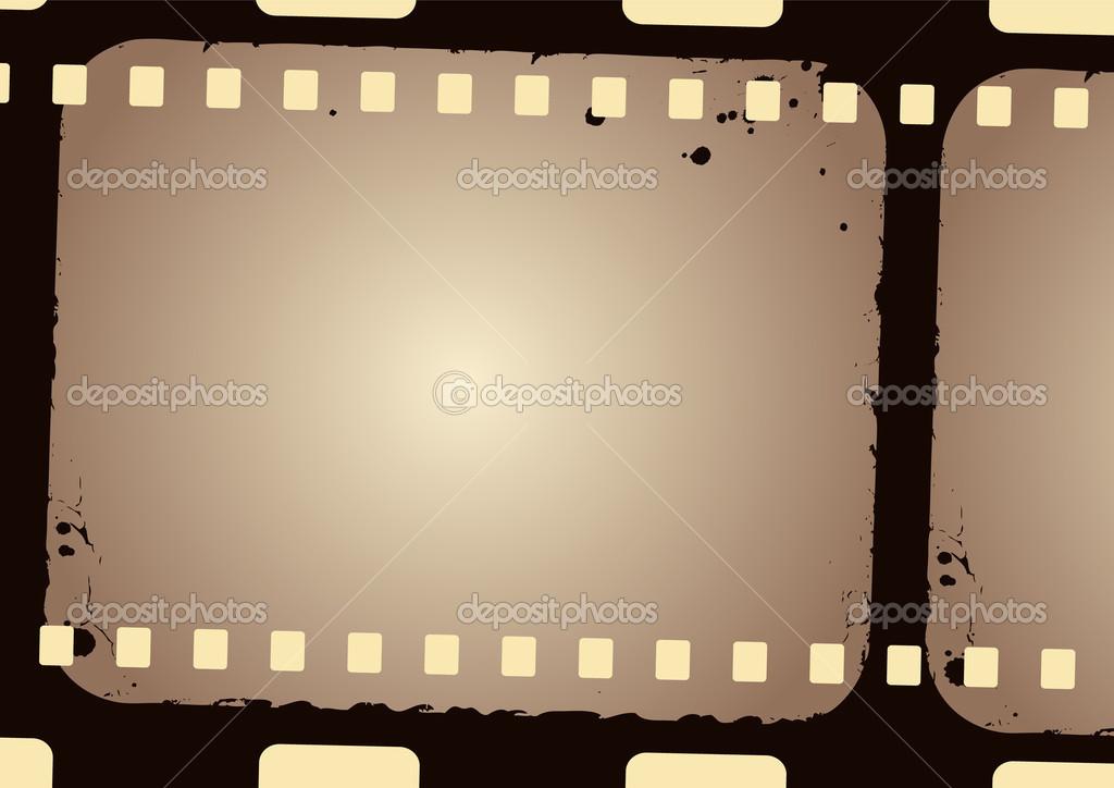 Grunge Camera Vector : Grunge film frame u2014 stock vector © gpimages #48385209