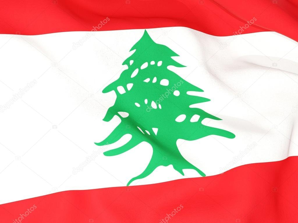 Flagge Libanons — Stockfoto © Mishchenko #22819968