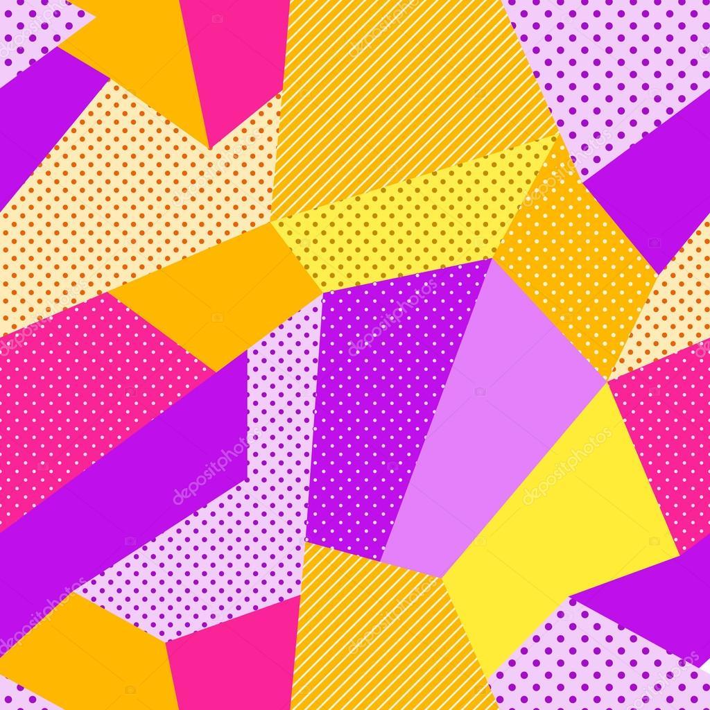Seamless Patch Work Pattern