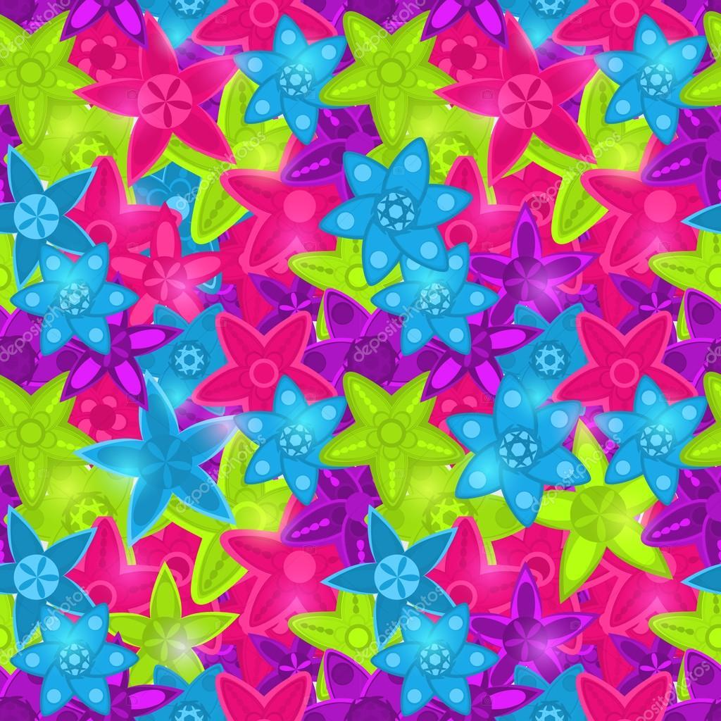 Кислотных цветов