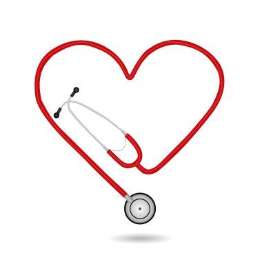 Stethoscope, Vector Illustration