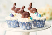 Fotografie Easter bunny cupcakes