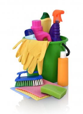 Detergents for cleaning in green pail