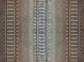 Fotografie Seamless railroad Pattern, backdrop