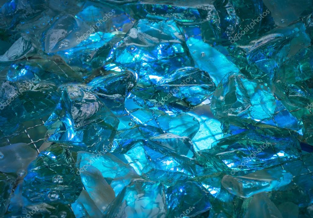 Sfondo Turchese Di Pietre Di Cristallo Lucido Acceso Bagliore