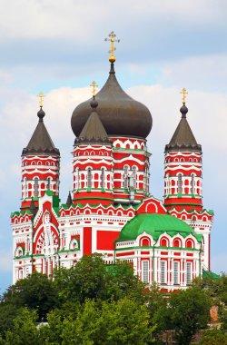 Orthodox cathedral in Feofaniya, Kiev, Ukraine