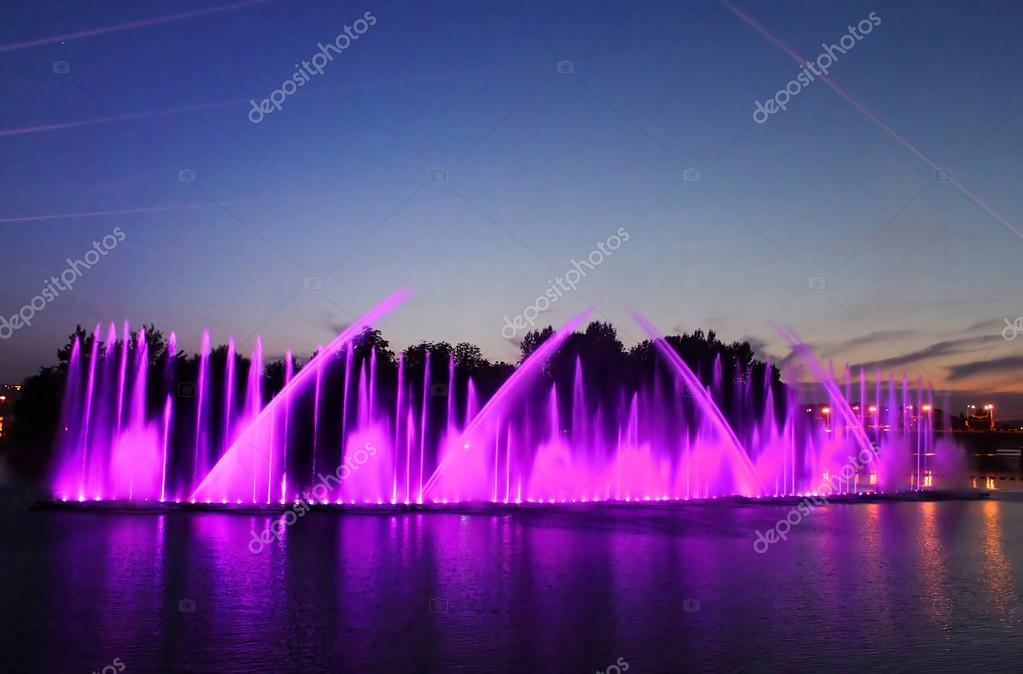 Biggest fountain on the river was opened in Vinnitsa