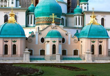 Orthodox cathedral (detail)