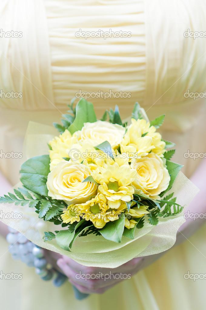 Фруктовых букетов свадебные букеты зелено-желтый цветы