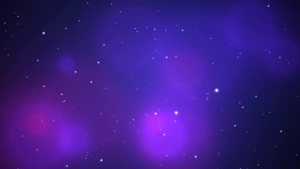 Blauer Glitzereffekt