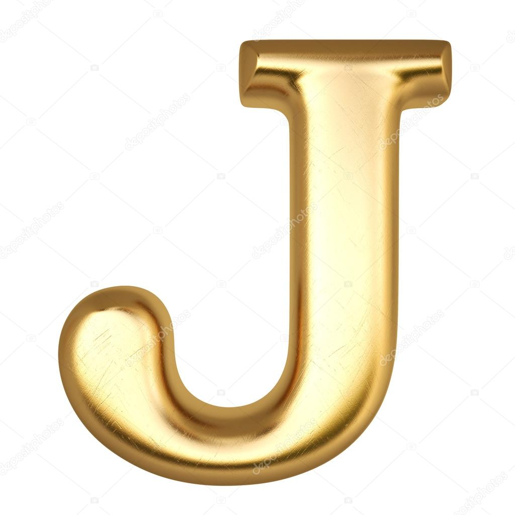 Superbe Letter J U2014 Stock Photo