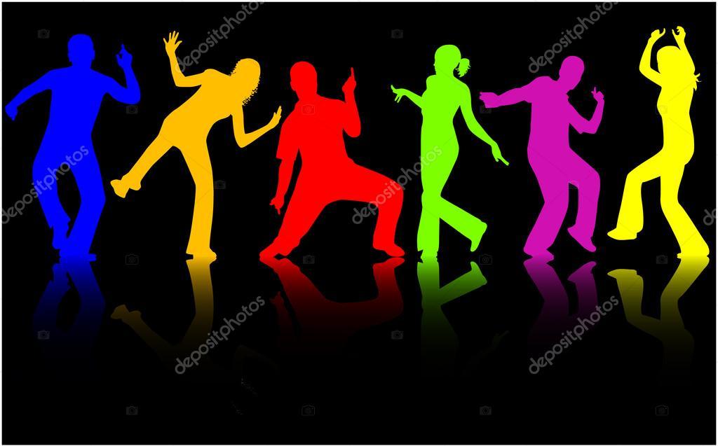 картинки танцующих людей